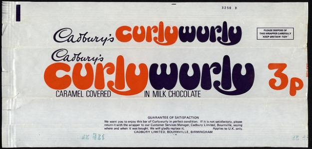 And when Curly Wurly were a decent size?
