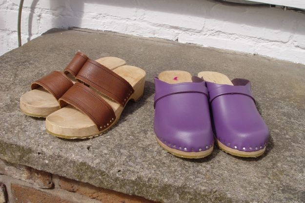 Sarah's new clogs. Read on for the full story.