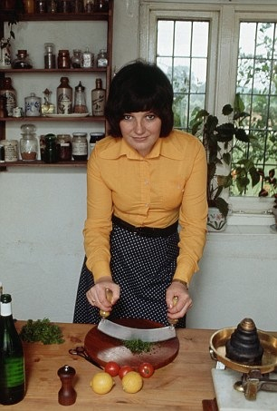 Delia will soon be here.