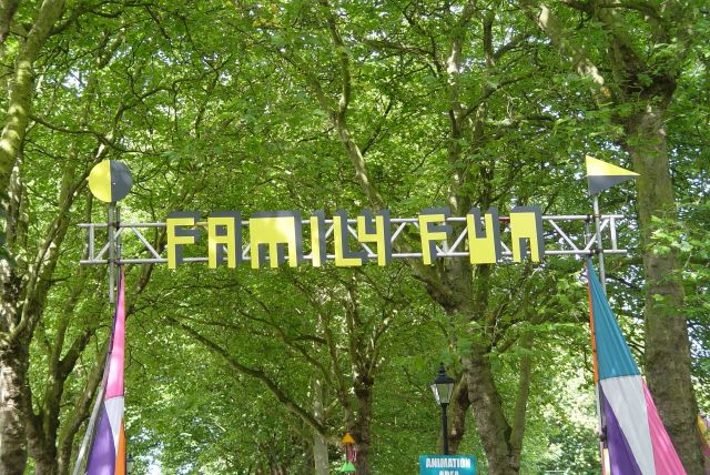 But today I'm here, and glad to see there will be 'Family Fun' later on.