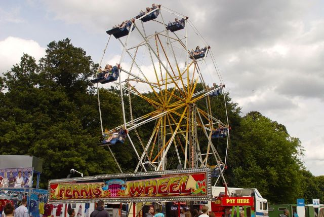 Yes, it's not a festival without a Ferris Wheel.