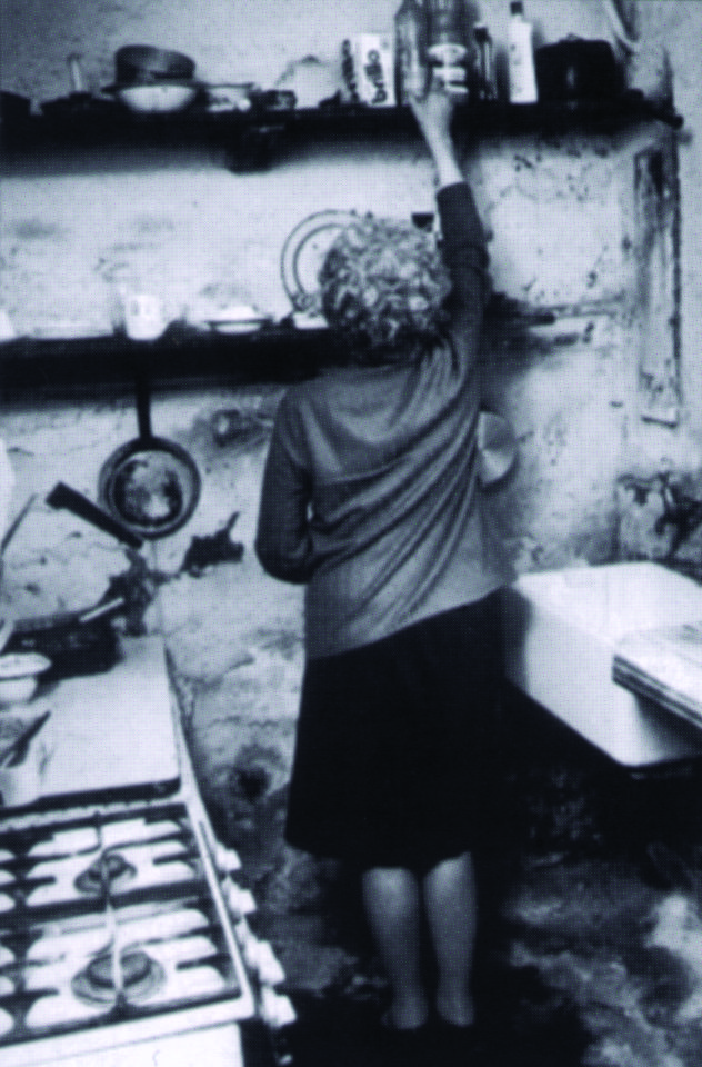 Early days. Conditions in a house in Walton, Liverpool. Victim of a Private Landlord.