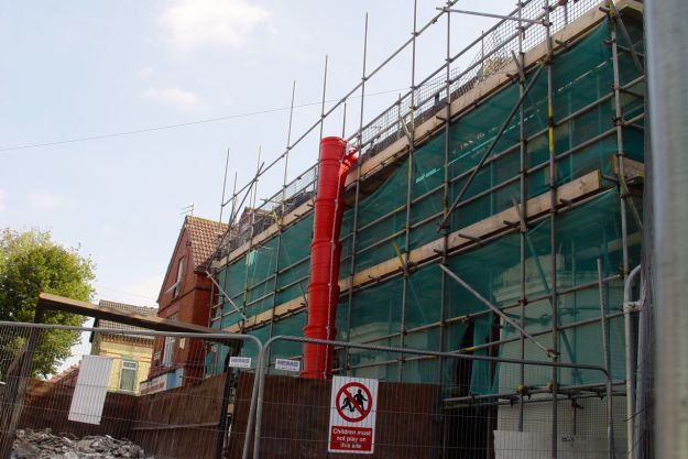 Granby 4 Streets, on site!