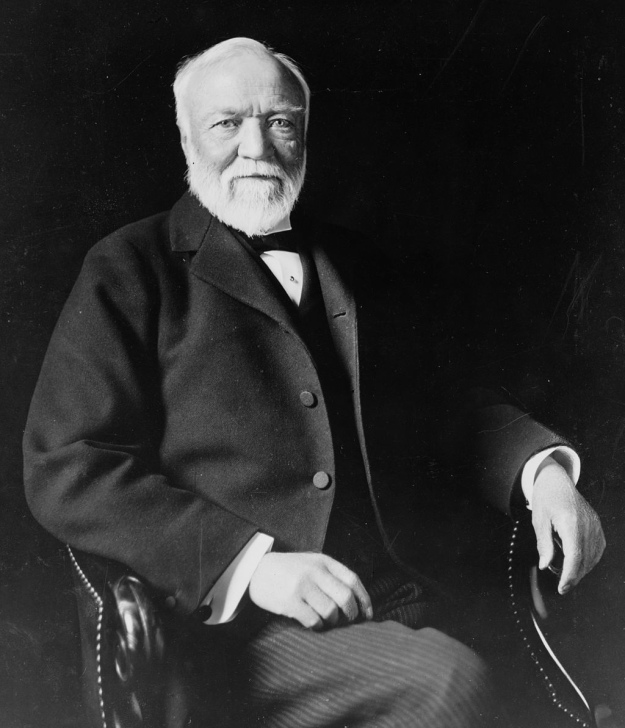 Thank you Andrew Carnegie, from us here in Liverpool.
