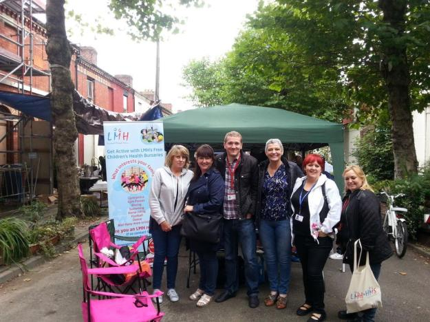 And with some of the LMH people at the Street Market.
