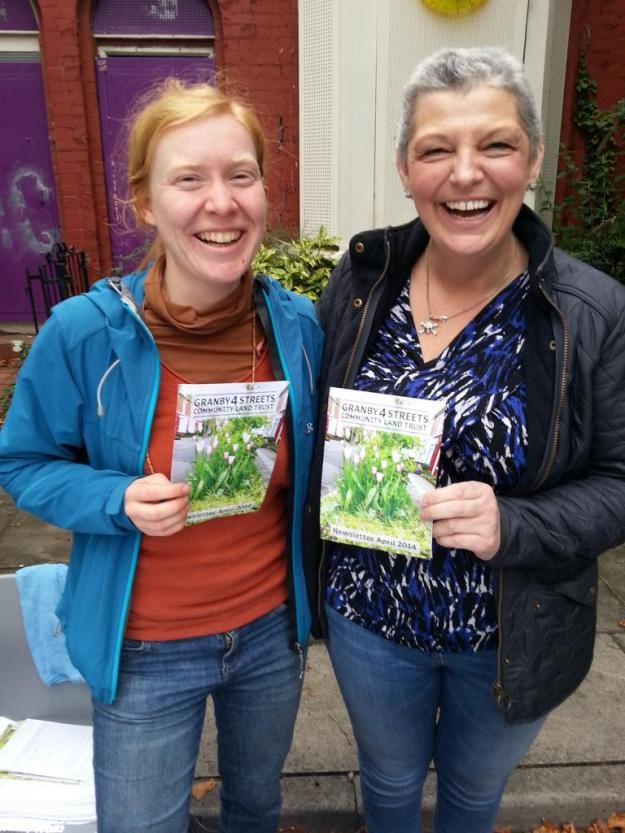 And with Gemma Gerome, one of the Street Market organisers.