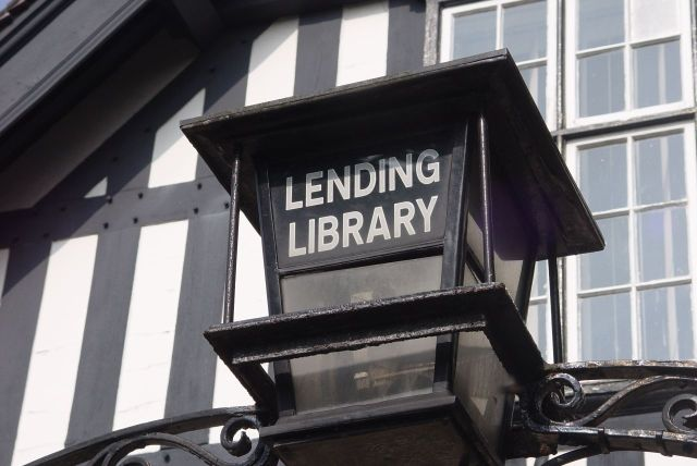 Yes, a lending library.