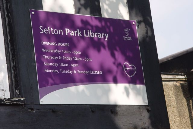 Now called 'Sefton Park'
