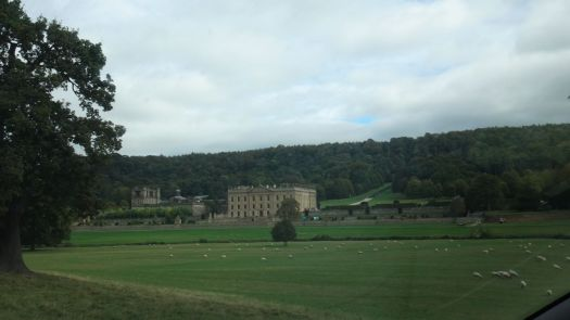 We arrive at Chatsworth.