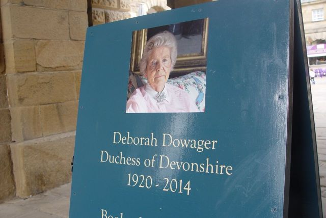 The day before our visit, Deborah, the last and youngest of the Mitford sisters has died, age 94.