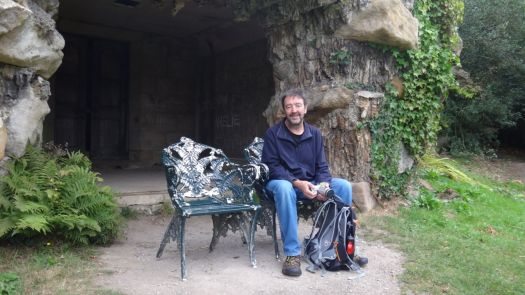 And contains many a grotto and quiet sitting place.