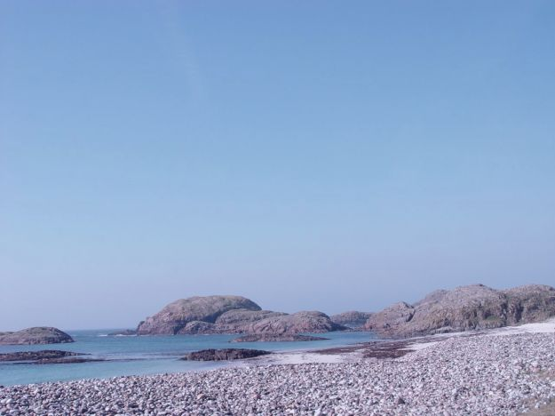The Bay at the Back of the Ocean, Iona.