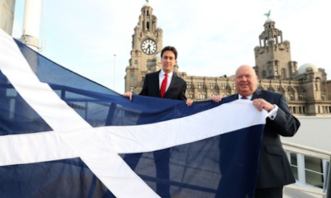 Joe and Saltire