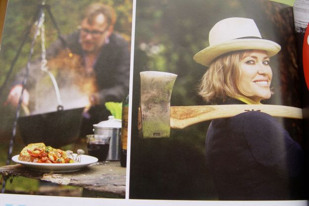Like just when you think you're done Cerys Matthews turns up talking about axe-hurling.