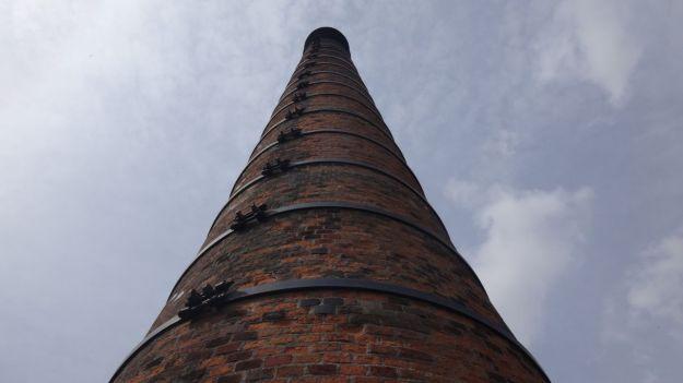 The chimney.