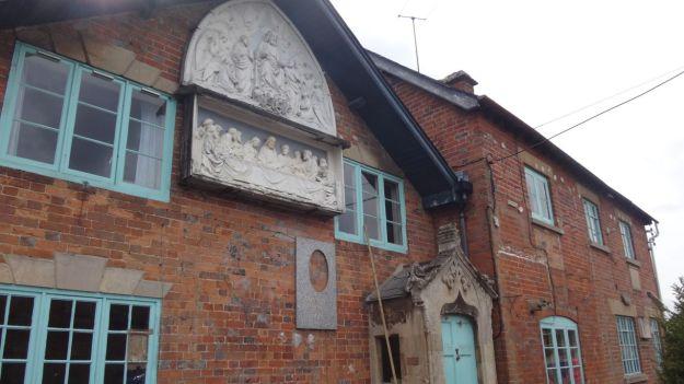 Passing through the village, an old stonemason's.