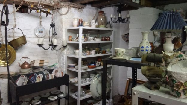 Treasure hunting in Hungerford.