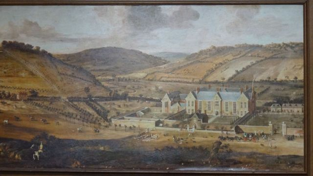 Painting of Littlecote House and estate.