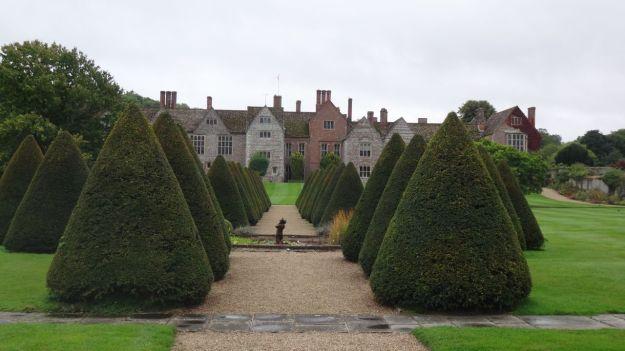 Littlecote House garden.