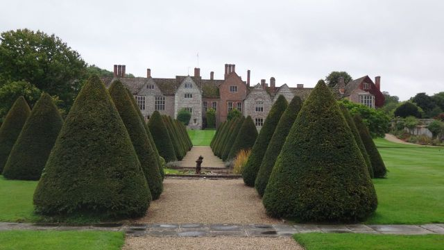 Littlecote House garden.