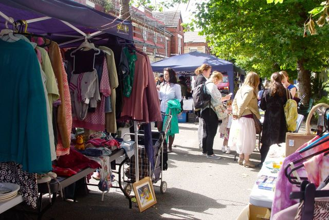 And it was a great day for the last summer Street Market of this year.