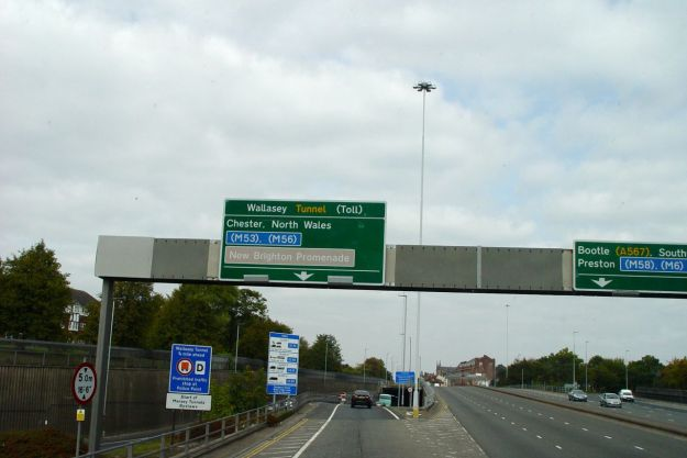 And through the tunnel to Wallasey.