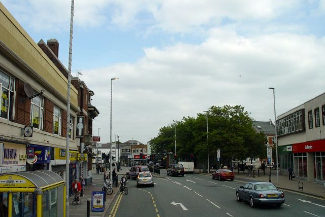 Through Liscard, part of Wallasey and we'll be back for a closer look later.