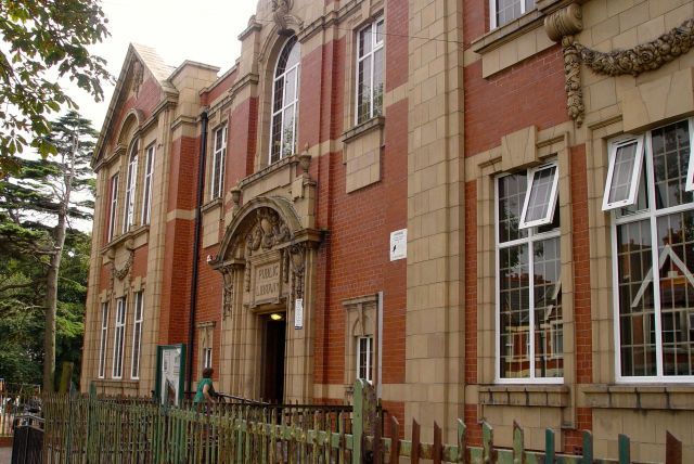 Wallasey Central Library.