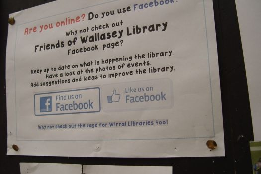 This Library has 'Friends' you know.