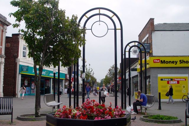Until we reach the town centre of this bit of Wallasey, Liscard.
