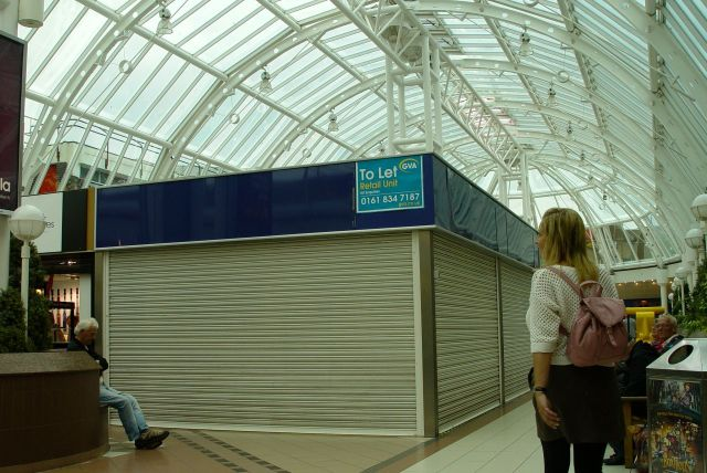 The Cherry Tree shopping centre reminding me very much of The Strand in Bootle.