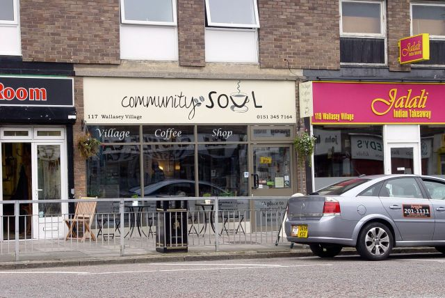 And its nicely named community Café.