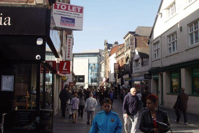 Crossing Richmond Street.