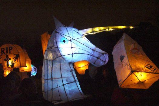 Illuminated creations.