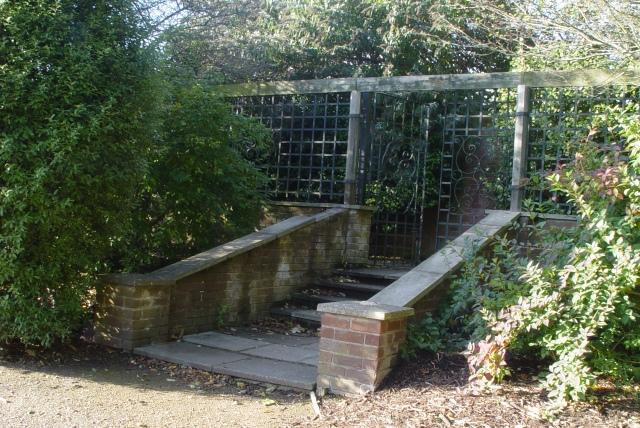 6 October 2014, the camillia terrace at Harthill Gardens.