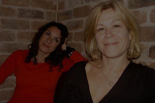 Gemma Bodinetz and Deborah Aydon.