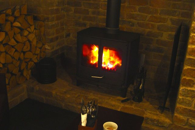 We met in the Bistro, naturally. In the cosy corner by the fire.