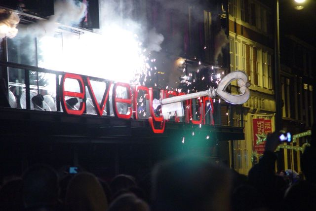 And yes, keen observers will note that the 'owl and the key' bit of last year's carnival was reprised to open the new Everyman a few months later.