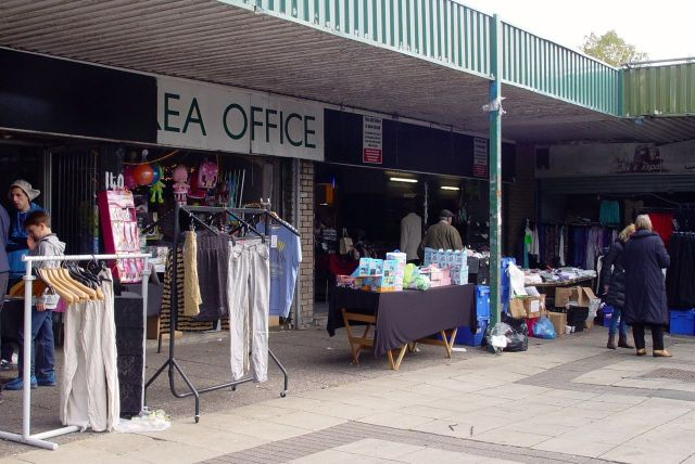 But for now some of the traders still have use of the shop premises.