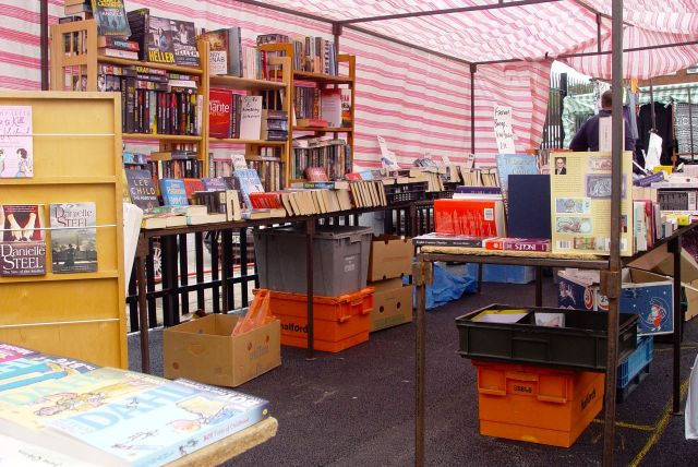 And a good variety of stalls.