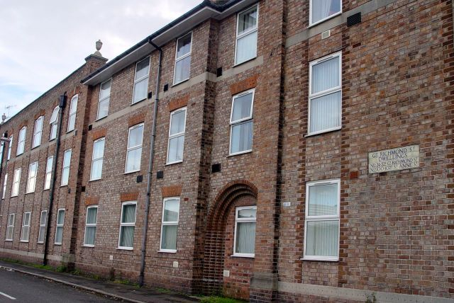 Along St Anne Street are these lovely examples of early 20th century municipal housing.