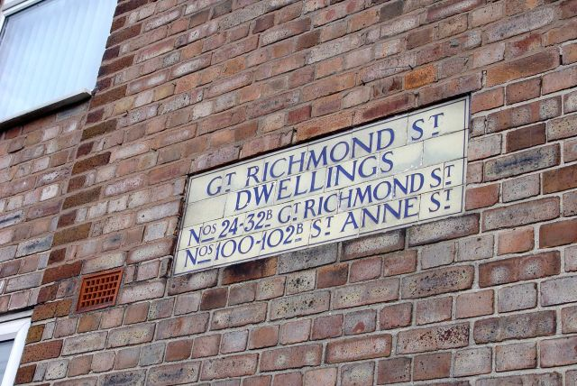 Great Richmond Street Dwellings.