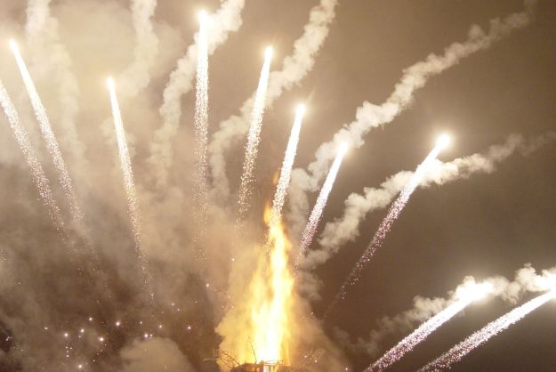 And the fireworks.
