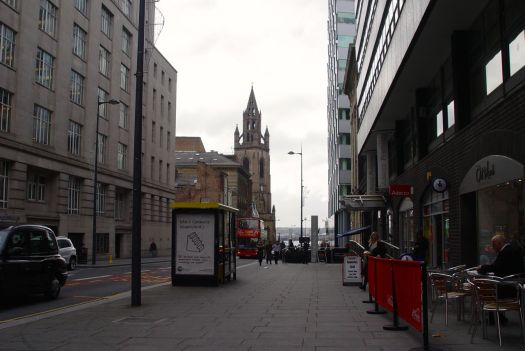 Looking along Chapel Street.
