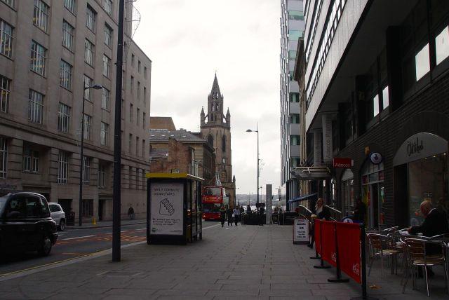 Looking along Chapel Street.
