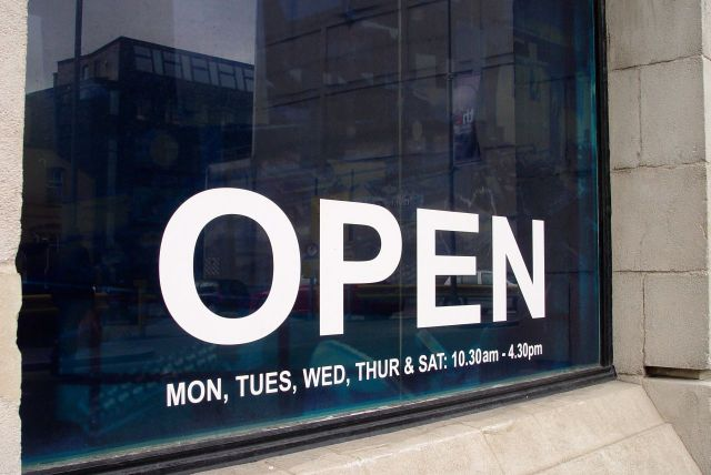 """""""And it's open, though you'd hardly know"""""""