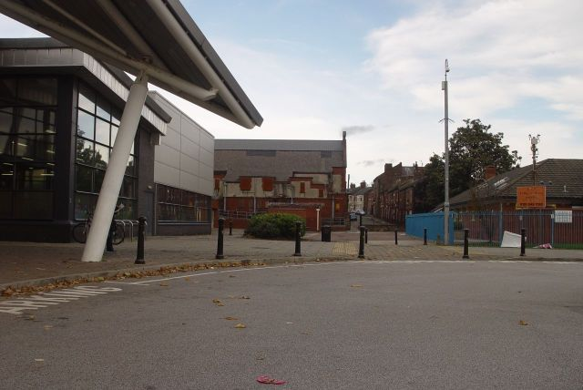 Past the new swimming baths, sorry, 'Aquatics Centre'