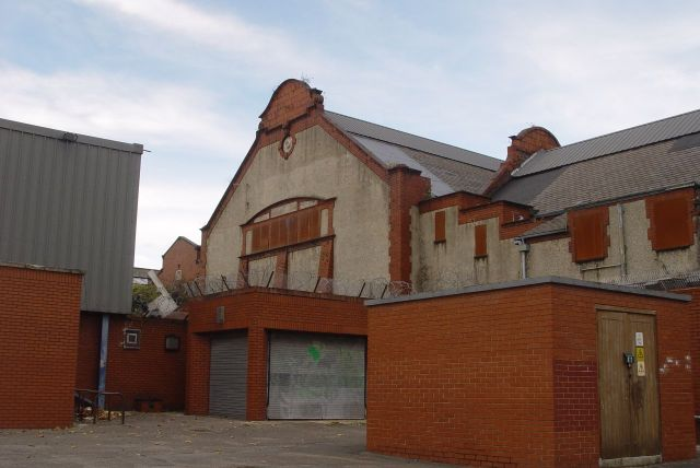 Old swimming baths still here. 'Lovely tiles' people say.