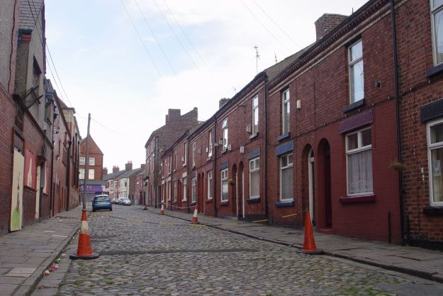 Along Glynn Street, one of our last cobbled streets.
