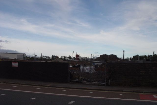 But this bit of Wavertree road is all about the railway.
